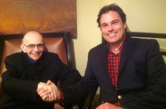 Trahey and Dr. Jose Antonio Abreu, founder of El Sistema, the program by which Peabody's Tuned-In is inspired.