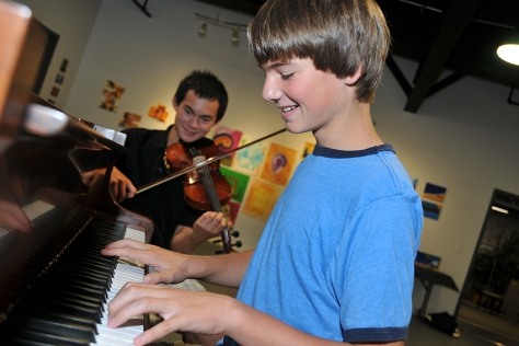 Youth Piano and String Students