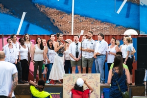 Community Chorus in performance