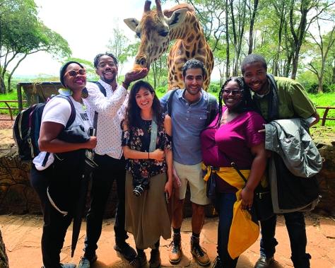 Rush Giraffe