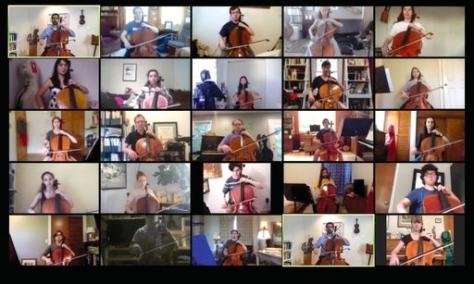 Cello zoom